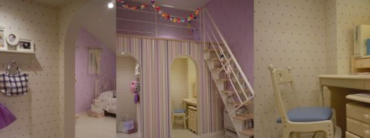 展示場戸建 子供室
