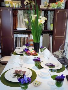 季節を彩るテーブルコーディネート教室 作品2