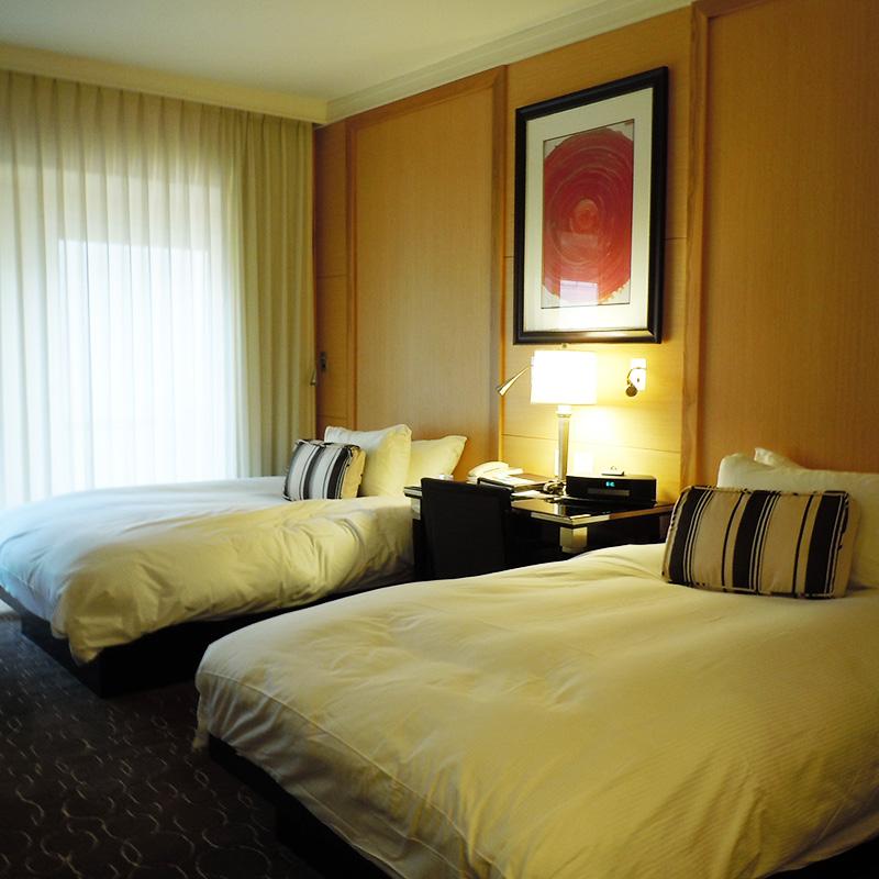 宿泊したホテルの客室